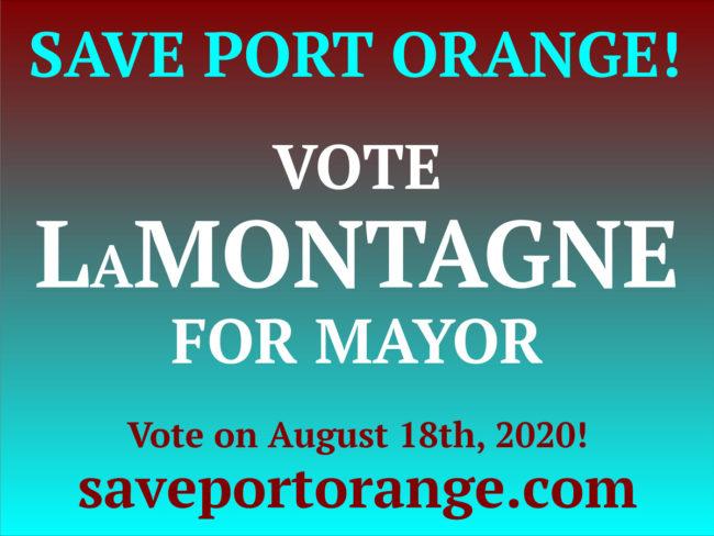 Save Port Orange Logo